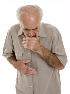 Excess mucus in the lungs may lead to difficulty in breathing and chronic coughing.