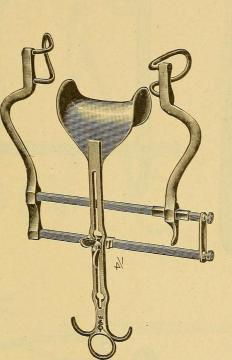 The Balfour retractor is one type of surgical retractor.