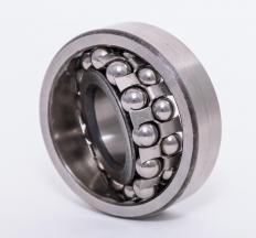 Ball bearings reduce friction.