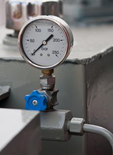 Regulators help manage the pressure in gas containers.