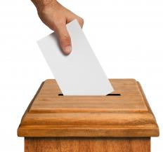 A ballot box is used in blackballing.
