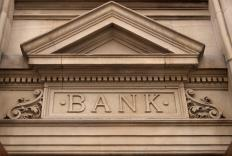 Banks lend to businesses, usually in the form of a revolving line of credit.