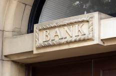 Financial institutions, including banks, undergo an audit at least once per year.