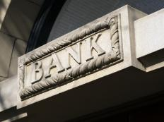 A bank bailout occurs when an institution provides financial assistance to prevent a bank from failing.