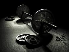 Barbell racks are typically made to hold a variety of barbell weight plates.