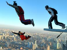 Base jumping is considered a dangerous sport.