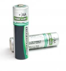 A battery contains multiple galvanic cells.