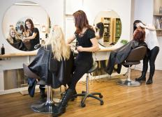 Keratin hair treatments are available in many hair salons.