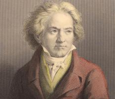 Some famous sonatas were written by Beethoven.