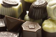 Theobromine is a chemical found in chocolate.