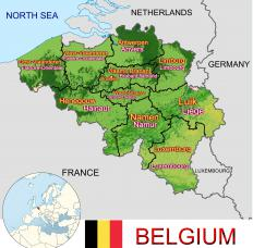 The most prevalent nationality to be represented by the Eurocrats is the nation of Belgium, rather than the larger countries.