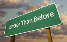 "In the phrase ""better than before,"" the word ""than"" is a preposition."