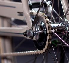 Fixed gear bikes do not have a freewheel.