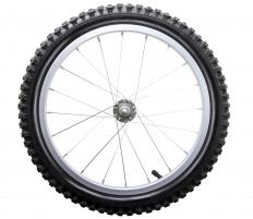 Bike's should have wheels and tires that are appropriate for their intended use.