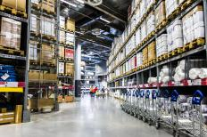 Warehouse shopping offers items in bulk for extra savings.