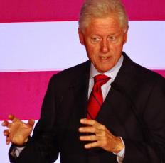 Former U.S. President Bill Clinton supported reinstating Jean-Bertrand Aristide to power in Haiti in the 1990s.