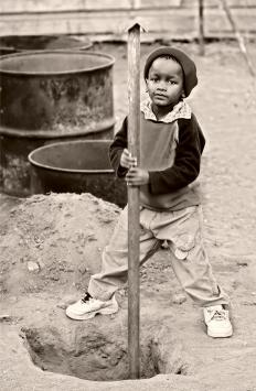 Hard labor was one of the things that affected children during the Great Depression.