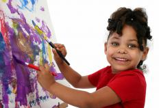 Art therapy encourages people to create art as part of a therapeutic process.