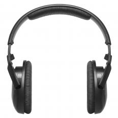 Noise-canceling headphones may be used with hearing aids.