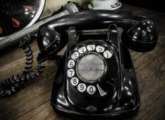 Area codes originated back when rotary phones were popular.
