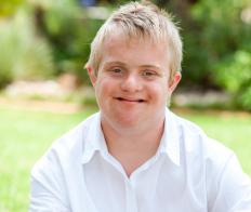 Intellectual disabilities may be caused by a chromosomal abnormality, as in the case of Down's syndrome.