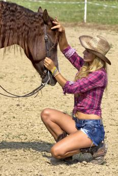 The friction from horseback riding and wearing jeans without underwear can cause vaginal blisters.