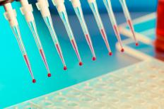 Blood samples may be used to conduct DNA sequencing.