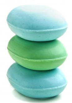 Scented soaps can be part of aromatherapy.