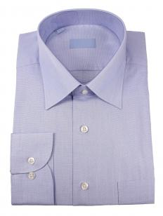 Dressy button-down shirts are often made of poplin.