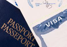 The most common visas for resident aliens are those related to being a student and work-related visas.