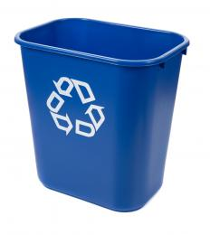Some recycling places offer bins free of charge to collect recyclables.