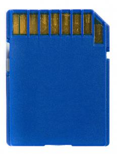 Memory card readers can read flash memory cards and transfer their contents to a computer.