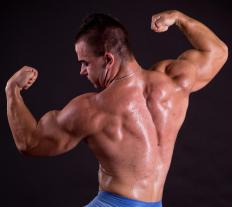 Bodybuilders are likely to have high creatinine levels in the blood.
