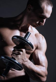 Weight lifting is a quick way to build muscle.