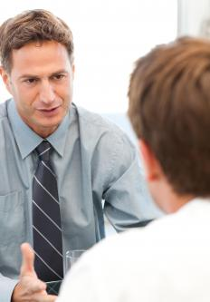 In-person consultations are a type of evaluation method used by companies.