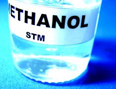 Methanol helps to purify water by encouraging the growth of certain bacteria with give off carbon.