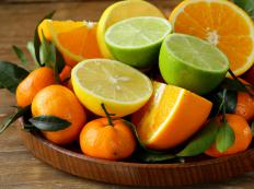 Citrus fruits are typically rich in folic acid.