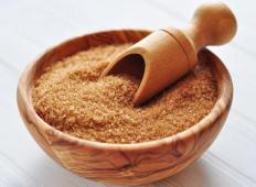 Sugar pie filling traditionally includes brown sugar.