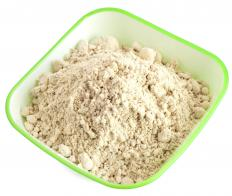Nut flour may be used to make the crust for cheesecakes.