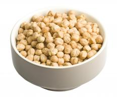 Chickpeas, which are used to make panelle.