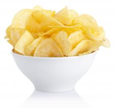 Maltodextrin is often used as part of the flavoring on potato chips.