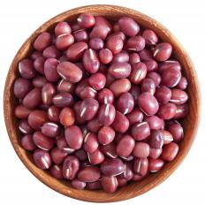 Adzuki beans, which can be substituted for Swedish brown beans.