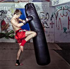 Some boxing bag workouts are focused on skill and technique.