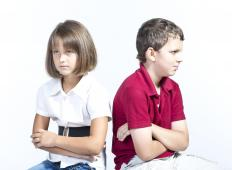 Peer mediation is sometimes used in schools.