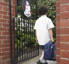Private sector education takes place within a private school or academy.