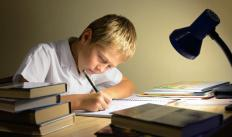 A child made to do his homework might be a consequence of refusing to work on it.