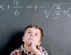 Mathematical reasoning is measured by an IQ test.