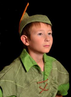 Robin Hood hats are identical to the one worn by the fictional character Peter Pan.