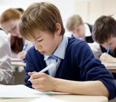 Standardized tests are an example of high-stakes testing.