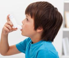 People are more likely to develop asthma if moisture has entered a home.